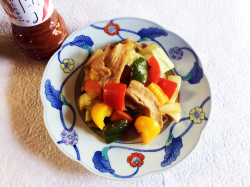 焼肉のたれ辛口で野菜炒め