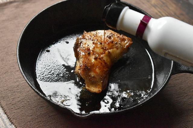 グリルチキン-ワイン樽醤油