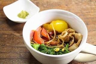 薬膳鍋スープの調理例